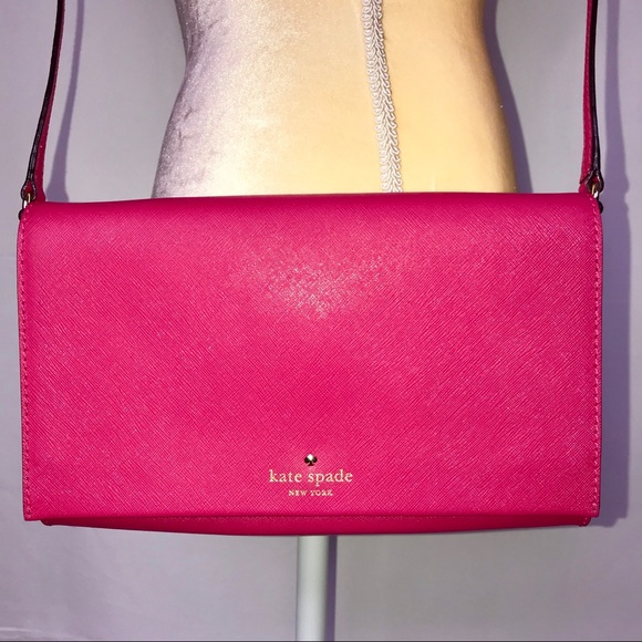 kate spade Handbags - Kate Spade Pink Crossbody Purse